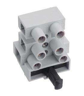 CFTBN/3WP - Barra de junção com suporte fusível 5x20mm - BJF