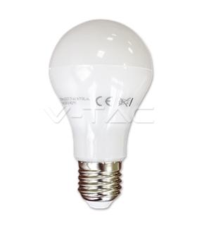 Lâmpadas LED E27 7W Termoplástico Epistar Branco Frio A60 - VT4212