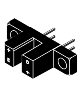 TCST1000 - Transmissive Optical Sensor without Aperture - TCST1000