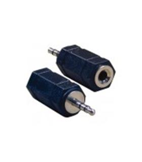 Ficha Jack Adapt. 3.5mm Femea Stereo para 2.5mm Stereo Macho - 69J3SF2SM