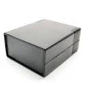 Caixa plástica 111x91x49mm preta - MX096-1508