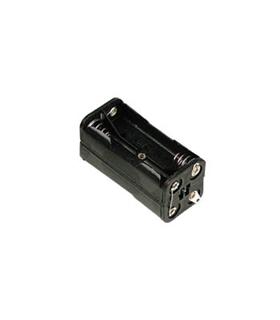 Suporte de 2x2 pilhas LR3 com sneep - S4LR3D