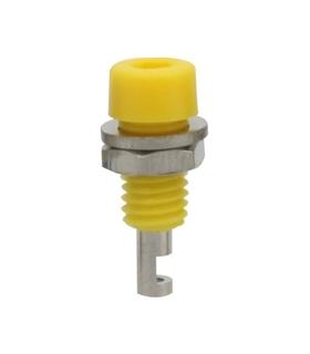 Alveolo painel 2mm 60VDC 10A - Amarelo - 69AP2Y