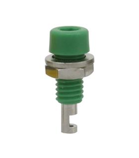 Alveolo painel 2mm 60VDC 10A - Verde - 69AP2G