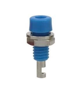 Alveolo painel 2mm 60VDC 10A - Azul - 69AP2BL