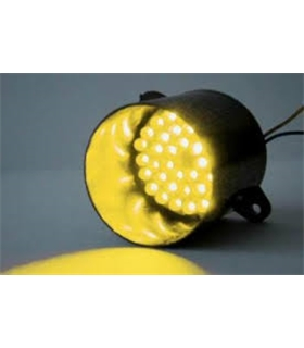 Módulo luz de sinalização 39 LEDs Amarelos - Kemo M138 - MX096-5132