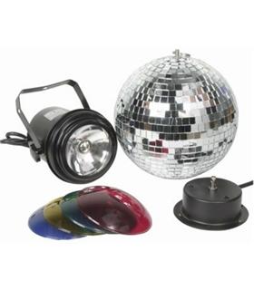 86518 - Conjunto de Bola de Espelhos com Projector e Filtros - 86518