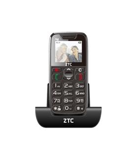 TELEMOVEL ZTC SP48 BLACK/GREY - ZTC-SP48BG