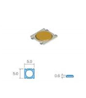 pulsador smd 5,0x5,0mm, Altura total 0,6mm - SWD21