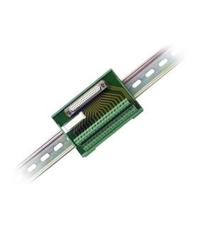 37-Pin DSUB to Screw Terminal Block w/ Horizontal DIN-Rail - 778673-01