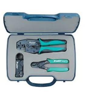 Kit de ferramentas p/ instalação de cabos coaxiais  6PK-3010 - 6PK3010