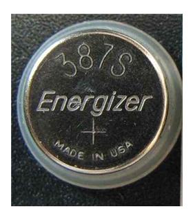 Pilha óxido de prata 1.55V - 387S - Ø3.6x11.6mm - 169SR387S