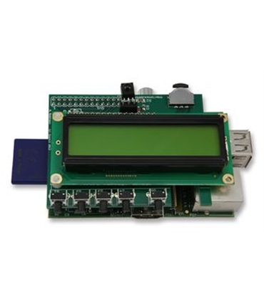 PIFACE CONTROL & DISPLAY - I/O BOARD WITH LCD DISPLAY - PIFACELCD