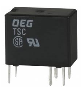 TSC109L3H - RELAY, PCB, SPDT, 9VDC, 1A - TSC109L3H