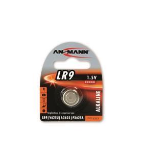 Pilha Alcalina 1.5V Ansmann LR9 - 1516-0002