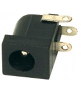 Ficha Dc Circuito Impresso 3.5x1.3mm - DCCI13