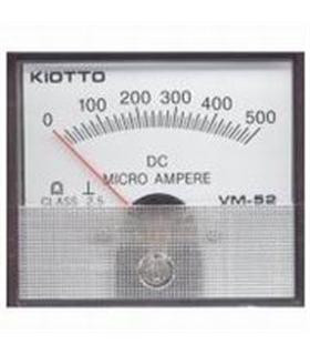Amperimetro Painel 0-500uA - A500UA