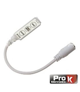Controlador p/ Fita LEDs Monocor 12V, PROK - CFL15RGB12