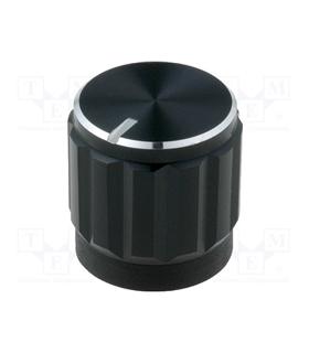 GC6M-15X16 -Botao Aluminio com Indicador - GC6M-15X16