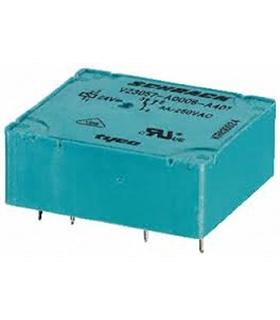 V23057A 1A401 - PCB Relay SPDT horiz, 8A 6Vdc, AgCdO - V23057A1A401