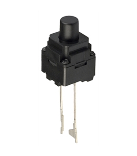 B3WN-6002 - Microswitch, 1-position, SPST-NO, 0.05A/12VDC - B3WN-6002