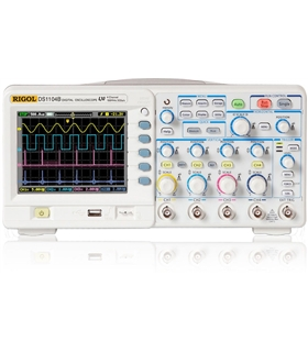 DS1104B - Osciloscópio Digital 4 Canais 100Mhz - DS1104B