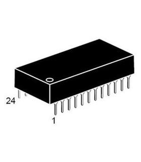 M48Z02-150PC1 - ZEROPOWER SRAM 16K, 48Z02, DIP24 - M48Z02-150