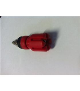Alveolo Grande Vermelho 4mm de Painel 30A 60Vdc - 69APG