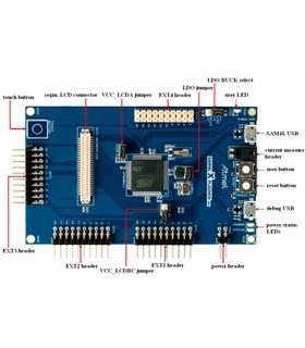 ATSAM4S-XPRO - SAM4S, XPLD PRO, EVAL BOARD - ATSAM4S-XPRO