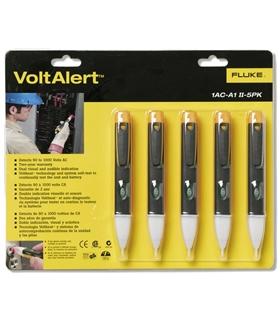 FLUKE 1AC-E2-II-5PK - VoltAlert Voltage Detector, 5 Pack - FLUKE1AC-E2-II-5PK