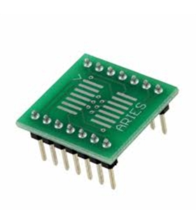 LCQT-SOIC14 - IC ADAPTER, 14-SOIC TO DIP, 2.54MM - LCQT-SOIC14