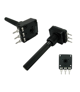 Potenciometro Rotativo C/Veio 5K - 16205K