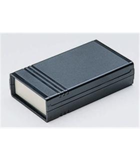 Teko 10001 - Caixa Plástico ABS c/painel Aluminio 145X85X37 - 10001