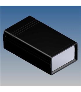 Teko 10002 - Caixa Plástico ABS c/painel Aluminio 145X85X49 - 10002
