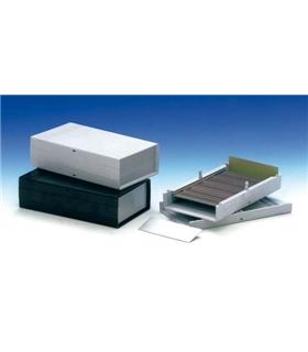 Teko 10005 - Caixa Plástico ABS c/painel Aluminio 199X110X56 - 10005