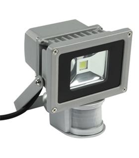 Projector 10W Branco Quente c/ Sensor de Movimento - LL058/S