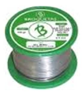 Solda em fio s/ chumbo c/ adição prata e cobre 0.70mm 100g - 191507100AG