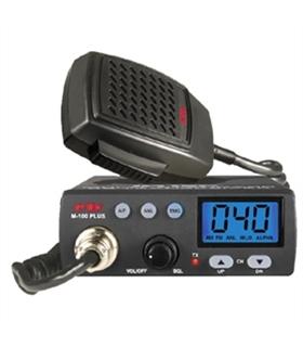 M100PLUS - Radio Cb 40 canais CB em AM/FM - M100PLUS