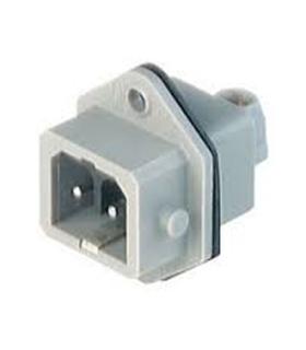 Conector Industrial  Macho de Painel,16A, 250Vac/dc - STASEI200