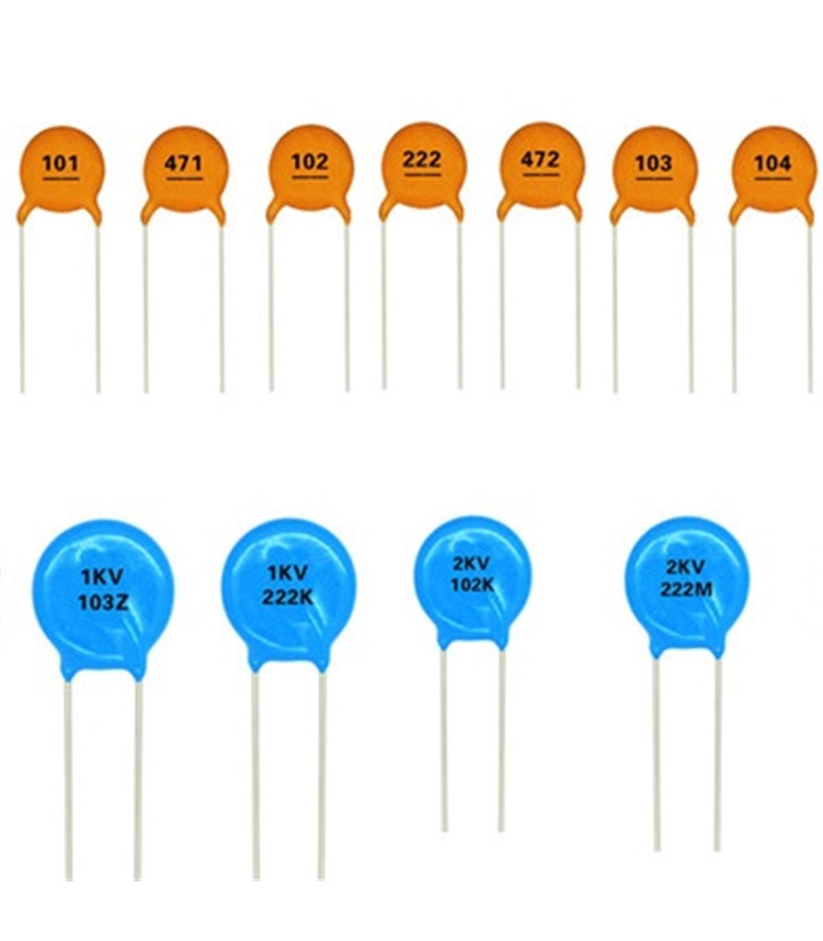 Condensador Ceramico 33pf 3kv Electronica Componentes