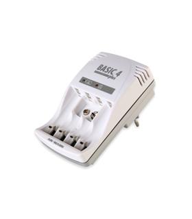 Basic 4 plus - Carregador Universal para 4 Pilhas - 5107343