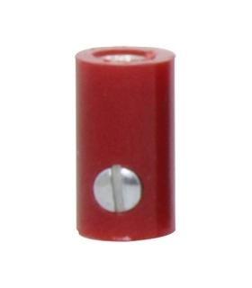 69BF2.6R - Ficha Banana femea 2.6mm - vermelho - 69BF2.6R