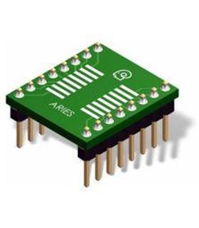 LCQT-SOIC28 - Adaptador Soic28 para Dip - LCQTSOIC28