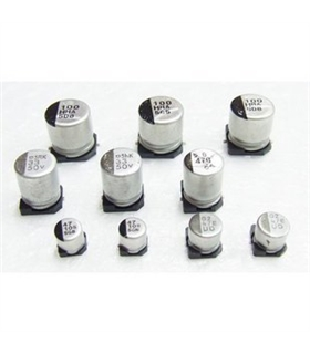 Condensador Electrolitico SMD 22uF 50V - 352250D