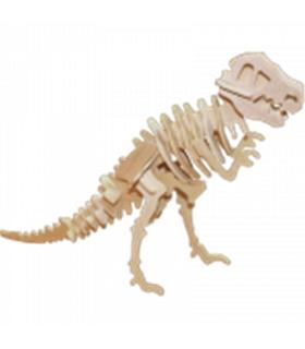 Livro + Puzzle 3D - T-Rex - 401106
