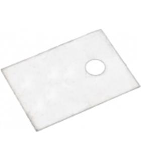 Mica para semicondutores com encapsulamento TO220 18x13x0.1m - MTO220