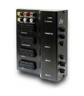 Comutador Scart 1 Entrada 3 Saidas - MX20852