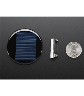 ADA700 -  Round Solar Panel Skill Badge 5V 40mA - ADA700