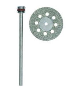 Disco de corte diamantado com ventilação Ø20mm - 2228844