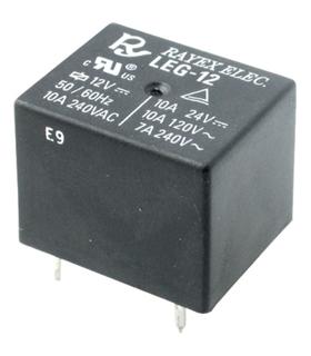 Relé electromagnético 12VDC 15A SPDT - LEG-12F
